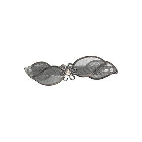 Kẹp Tóc Hoa Nhỏ Osewaya HA600-6271 - Đen