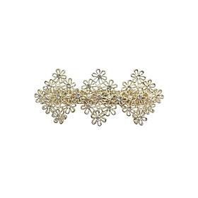Kẹp Tóc Hoa Và Ngọc Osewaya HA1000-8319 - Vàng