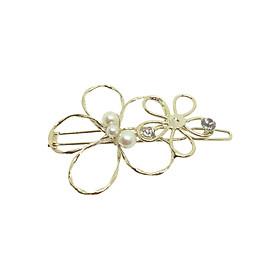 Kẹp Tóc Hoa Osewaya HA1000-8437 - Vàng