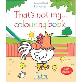 Sách tô màu That's Not My… Colouring Book: Farm