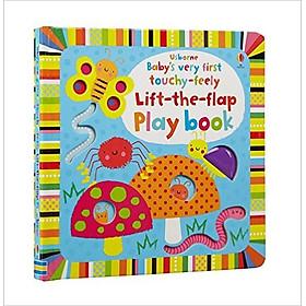 Sách tương tác tiếng Anh - Usborne Baby's very first touchy-feely Lift-the-flap Play book