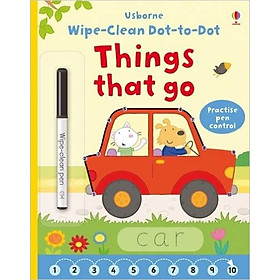 Usborne Dot-to-Dot Things that go