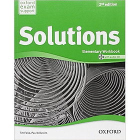 Solutions (2 Ed.) Ele: Workbook And Audio CD Pack - Paperback
