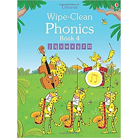 Usborne Wipe-Clean  Phonics Book 4