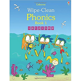 Usborne Wipe-Clean  Phonics Book 1