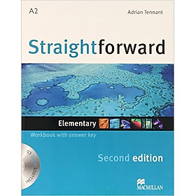 Straightforward (2 Ed.) Ele: Workbook With Key With CD - Paperback