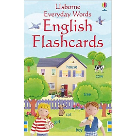 Usborne Everyday words English Flashcards