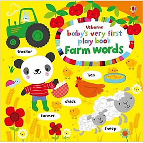 Usborne Baby's very first word play book Farm words