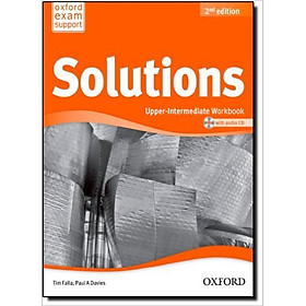 Solutions (2 Ed.) Upper-Inter: Workbook And CD Pack - Paperback