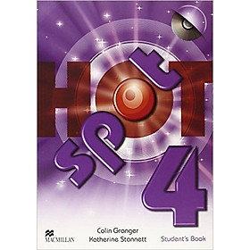 Hình đại diện sản phẩm Hot Spot 4: Student Book with CD-ROM - Paperback