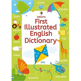 Usborne First Illustrated English Dictionary