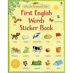 Usborne First Words Sticker Book