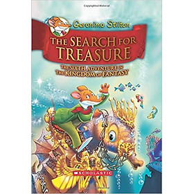 Geronimo Stilton And The Kingdom Of Fantasy 6: The Search For Treasure - Hardcover