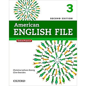 Oxford American English File 3: Student Book With Oxford Online Skills Program (2 Ed.)