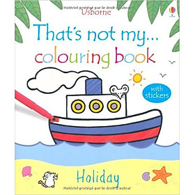 Usborne That's not my colouring book: Holiday