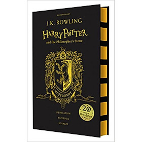 Harry Potter Part 1: Harry Potter And The Philosopher's Stone (Hardback) Hufflepuff Edition (Harry Potter và Hòn đá Phù Thủy) (English Book)