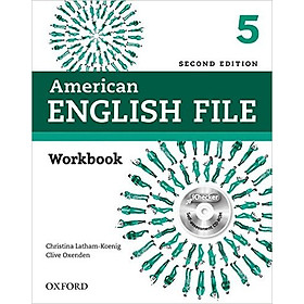 American English File (2 Ed.) 5: Workbook With IChecker - Paperback