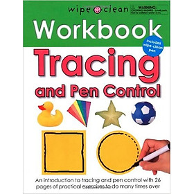 Wipe Clean Workbooks Tracing and Pen Control
