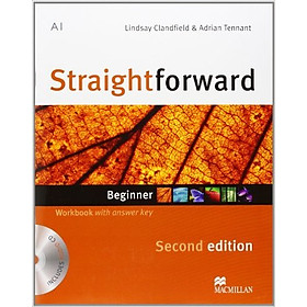 Straightforward (2 Ed.) Beg: Workbook With Key With CD - Paperback
