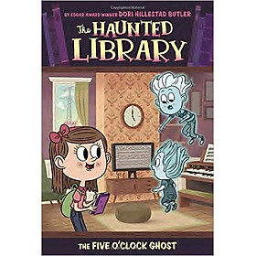 The Haunted Library 4: The Five O'Clock Ghost - Paperback