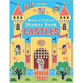 Usborne Make a Picture Sticker Book Castles