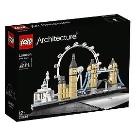 Bộ Lắp Ghép LEGO Architecture Thành Phố London 21034 (468 Mảnh Ghép)