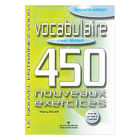 450 Vocabulary Niveau Debutant