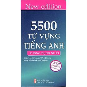 5500 Từ Vựng Tiếng Anh (Tái Bản)
