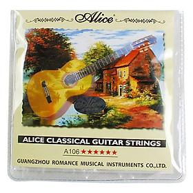 Bộ Dây Đàn Guitar Classic Alice A106H