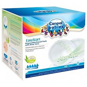 Miếng Lót Thấm Sữa Thành Phần Lô Hội Canpol EasyStart 40c - 19/608