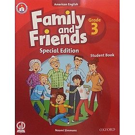 Family And Friends (Ame. Engligh) (Special Ed.) Grade 3: Student Book With CD