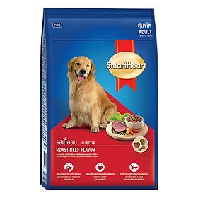 Đồ Ăn Khô Cho Chó Trưởng Thành Hương Vị Thịt Bò Nướng SmartHeart (3kg)