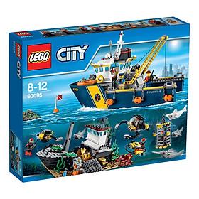 Mô Hình Lego City - Tàu Thăm Dò Biển Sâu 60095 (717 Mảnh Ghép)