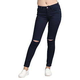 Quần Jeans Skinny Nữ ALE JEANS 60206SK - Xanh Đậm
