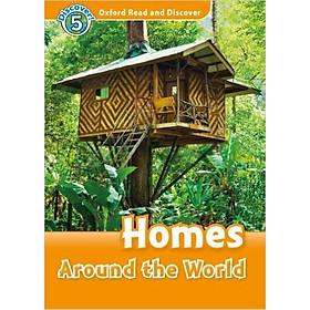 Hình đại diện sản phẩm Oxford Read and Discover 5: Homes Around the World