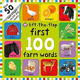 First 100 Farm Words: Lift-the-Flap