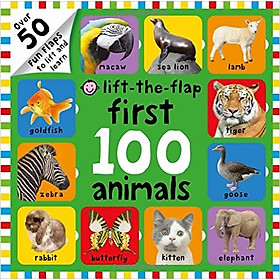 First 100 Animals Lift-The-Flap