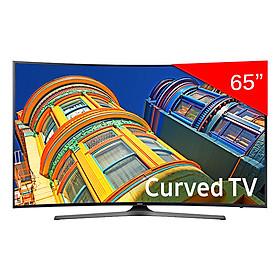 Smart Tivi Cong 4K Samsung 65 inch UA65KU6500 - Hàng Chính Hãng