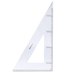 Bộ Thước Eke 45cm Deli 6445
