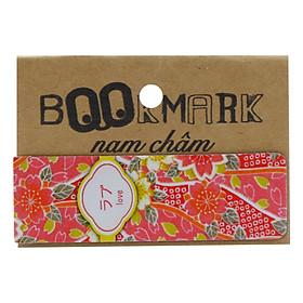 Bookmark Nam Châm Kính Vạn Hoa - Họa Tiết Nhật: Love
