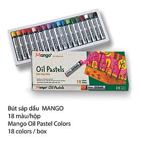 Bút Sáp Dầu MANGO - BSD18M