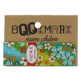 Bookmark Nam Châm Kính Vạn Hoa - Họa Tiết Nhật: Happiness