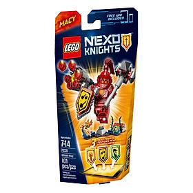 Mô Hình LEGO Nexo Knights - Hiệp Sĩ Macy 70331 (101 Mảnh Ghép)