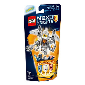 Mô Hình LEGO Nexo Knights - Hiệp Sĩ Lance 70337 (69 Mảnh Ghép)