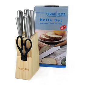 Bộ Dao Kéo Làm Bếp 8 Món IN.01-007