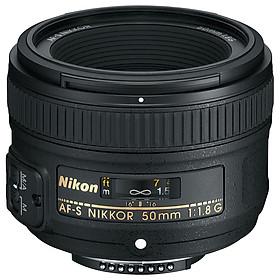 Lens Nikon AF-S 50mm f/1.8G (VIC Nikon) - Hàng Chính Hãng