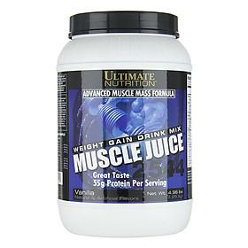 Sữa Tăng Cân Vị Vani Muscle Juice Ultimate Nutrition SMUN221 (2.25kg)
