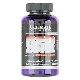 Viên Uống Giảm Mỡ Cắt Nét RedZone Ultimate Nutrition SMUN561 (120 Viên)