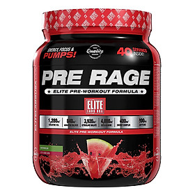 Sữa Uống Trước Khi Tập Vị Dưa Hấu Pre Workout Pre Rage Elite Labs SMEL667 (280g)
