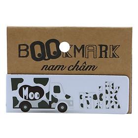 Bookmark Nam Châm Kính Vạn Hoa - Milk